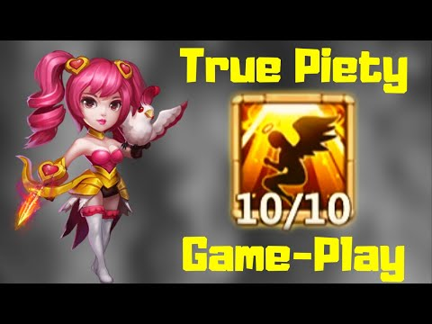 True Piety 10/10 | Dove Keeper | Game-Play | Castle Clash
