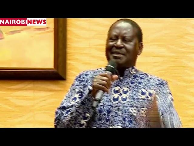 Raila Odinga's new nickname for DP William Ruto