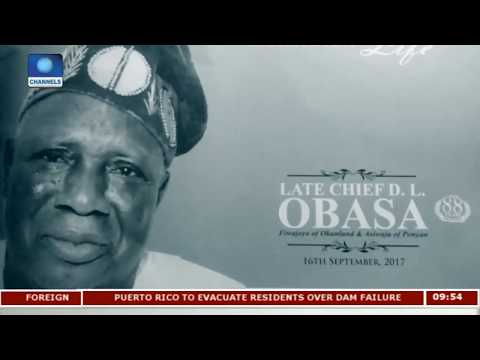 Prominent Nigerians Attend Late Chief Obasa's Burial | Metrofile |