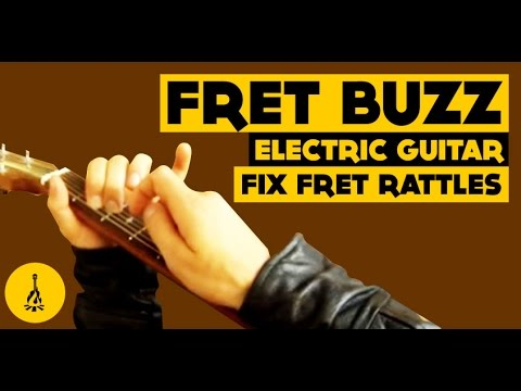 fret buzz electric guitar fix fret rattles how to play guitar without buzzing youtube. Black Bedroom Furniture Sets. Home Design Ideas