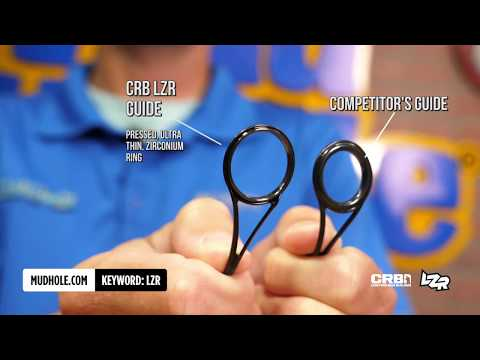 Product Spotlight: CRB LZR Fishing Rod Guides