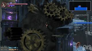 Bloodstained: Ritual of the Night Any% Speedrun in 26:10