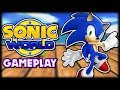 Sonic World R8 (Fan Game) Gameplay