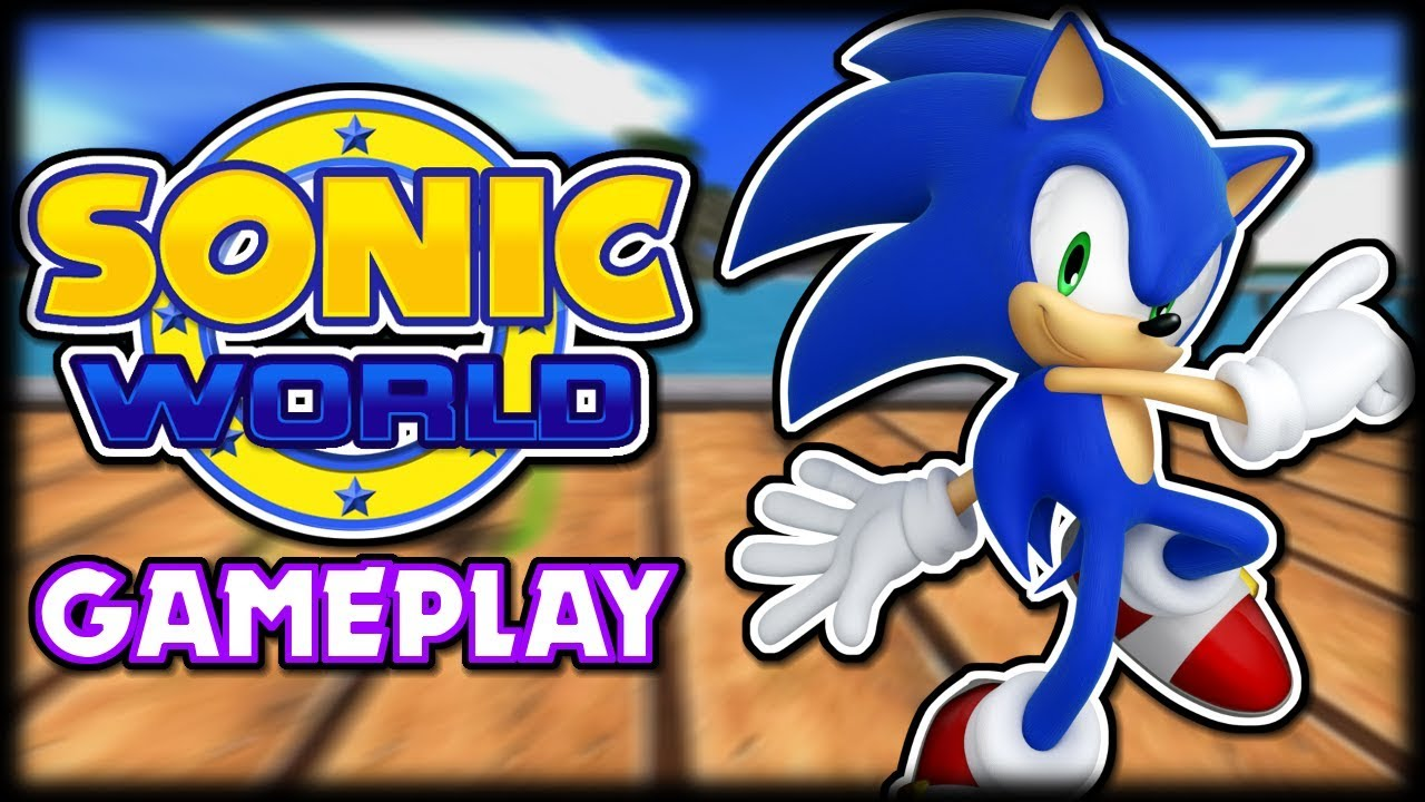 Sonic World R8 (Fan Game) Gameplay - YouTube