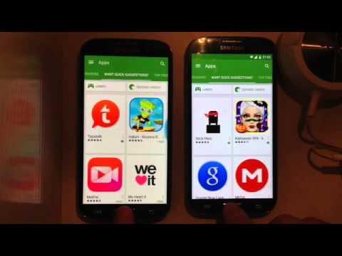 Galaxy S4 : Omni Rom 4.4.4 KITKAT Vs Cyanogen 12 Lollipop 5.0.1 Open Apps Speed Test