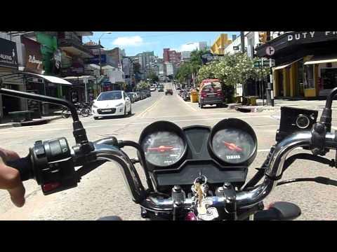 Motovlog #13 - Uruguay Rivera, Yamaha Factor ED. Santiago Motovlog