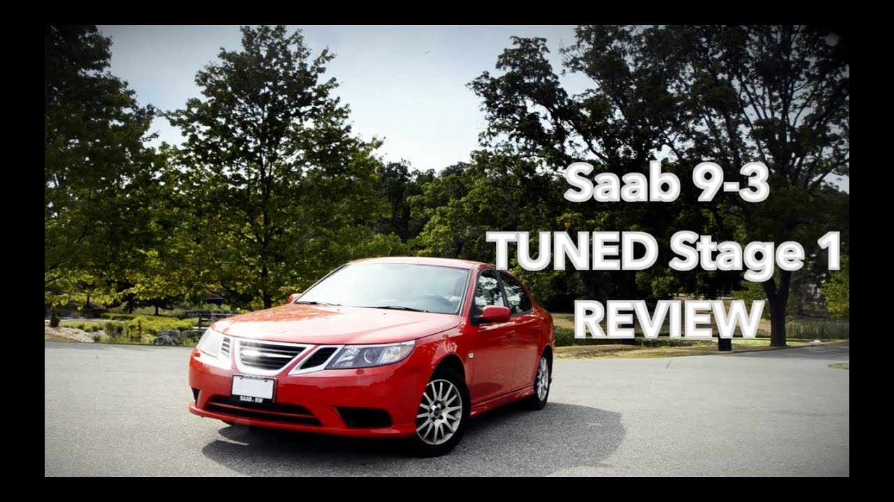 Saab 9-3 Stage 1 TUNED review