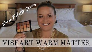 Viseart Warm Mattes GRWM - mature beauty/hooded eyes