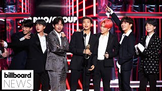 BTS' 'Film Out' Helps The K-Pop Artists Reach A New Billboard Milestone  | Billboard News