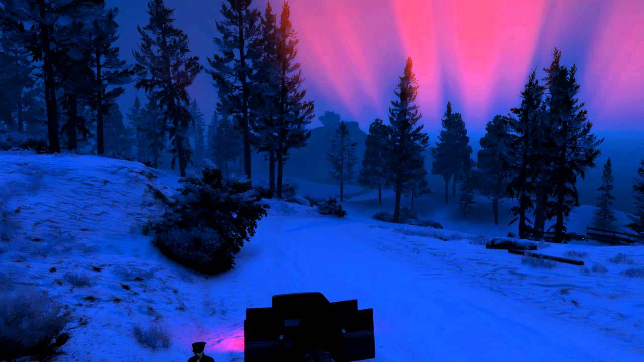 gta 5 christmas dlc 2015 christmas tree golden tree northern lights