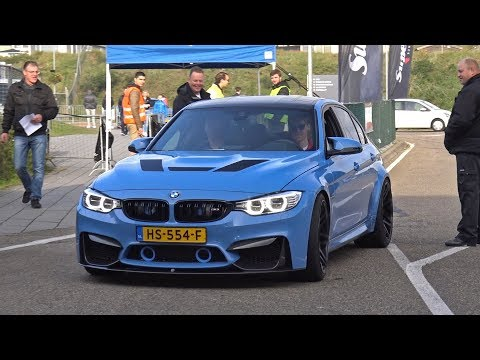BMW M3 F80 with VERY LOUD 3D Design Exhaust!