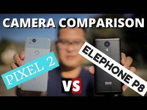Elephone P8 vs Pixel 2 Camera Comparison