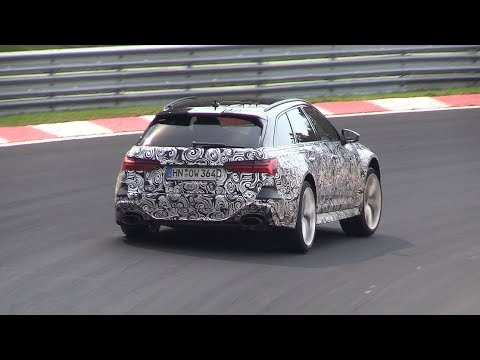2020 Audi Rs6 C8 Avant Exhaust Sounds On The Nurburgring