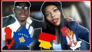 REACTION | ALBANIA vs SERBIA vs GERMANY Rap/Hip Hop/RnB