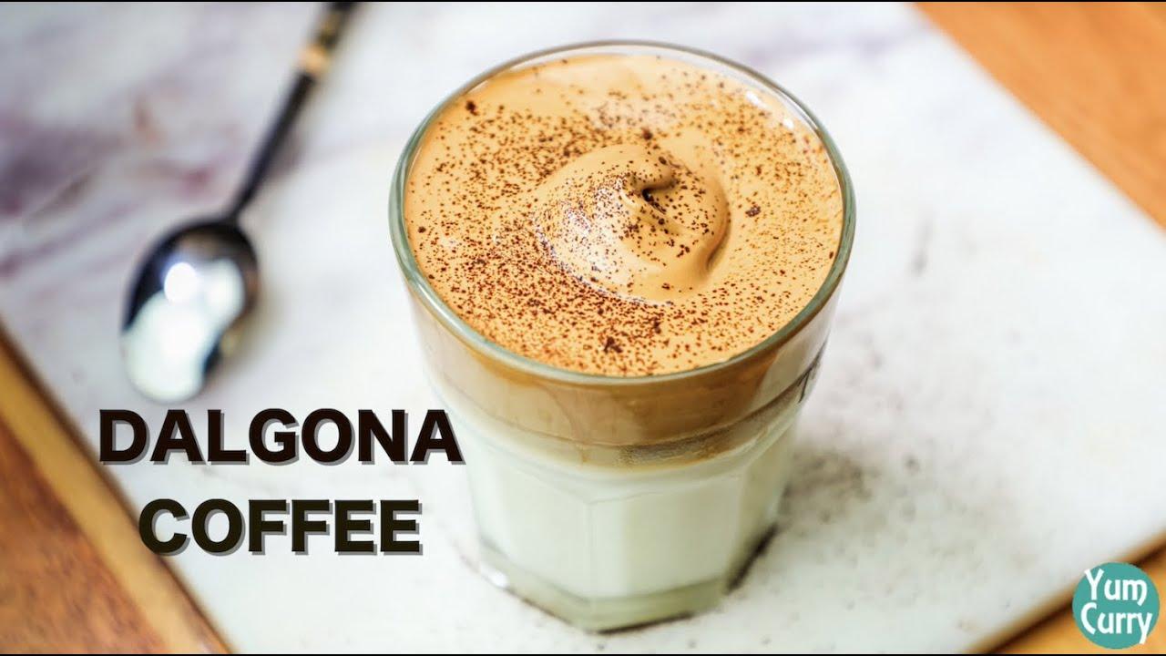 Dalgona Coffee Recipe - How To Make Dalgona Coffee - YouTube