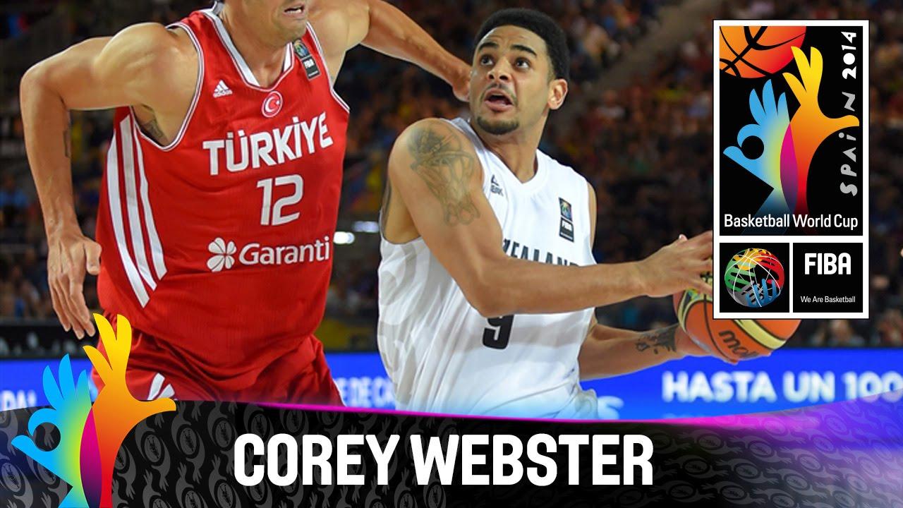 Corey Webster - Best Player (New Zealand)