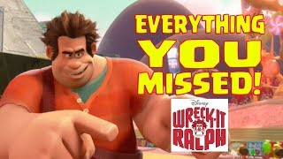 Disney's WRECK-IT RALPH Easter Eggs and Everything You Missed. Video