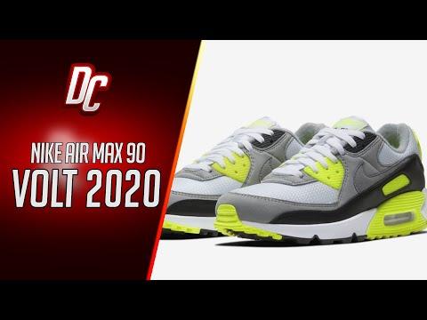 【dc-sneaker】nike-air-max-90-volt-2020-unboxing