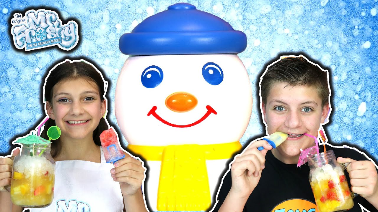 Mr Frosty Makes Cool Drinks and Lollies
