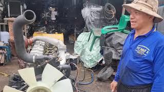 Mitsubishi 6D24..trubo đời cơ giới. 350ps..chất lượng trên 90%..0907477444..0965477444..