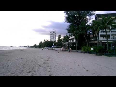 ชายหาดริมทะเล หน้าที่พัก สวนบวกหาด ชะอํา เพชรบุรี
