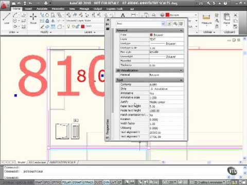 how to change dimension scale in autocad 2015