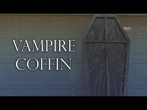 Vampire's Coffin: Halloween Woodworking & Propmaking