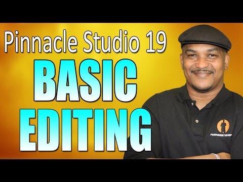 Pinnacle Studio 19 Ultimate - Basic Editing Beginners Tutorial
