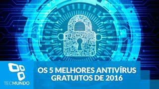 Os 5 melhores antivírus gratuitos de 2016