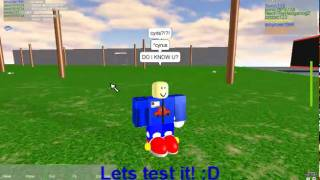 Roblox Shorts 2:Sonic111's new shoes