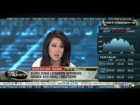 CNBC, 05/07/10, Brian Kelly sold all his stocks today (Dow 10,380 this day)