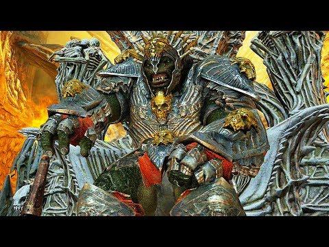 SHADOW OF WAR - HIGH Level 540 GOLDEN Skull Overlord Mystic Bastion Boss Batle