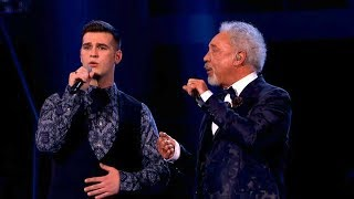 The Voice UK 2013 | Sir Tom and Mike Duet: