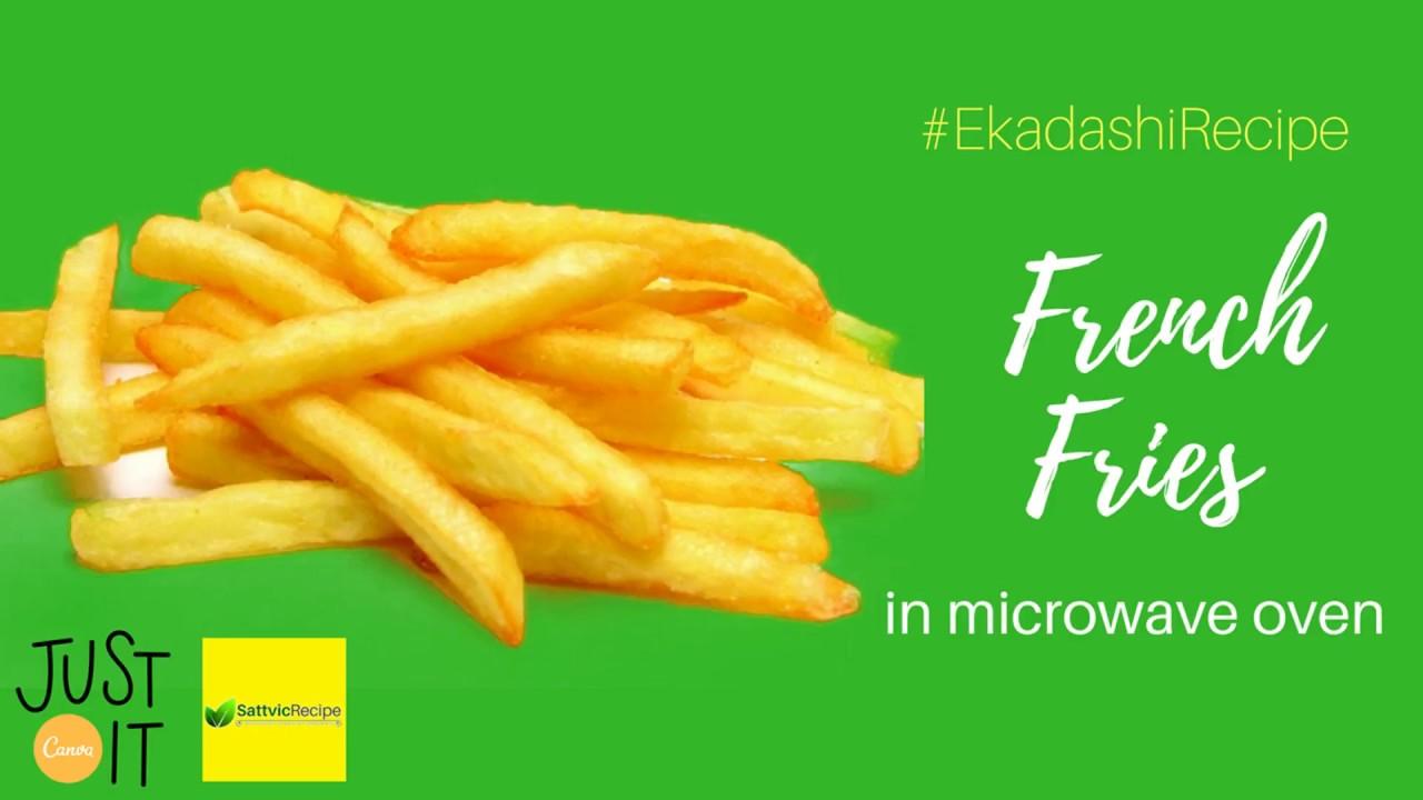 French Fries In Microwave Ekadashi Recipe