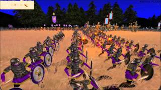 (Cinematic-Style) Barbarian Invasion Online Battle #61: Sassanids vs the Eastern Roman Empire