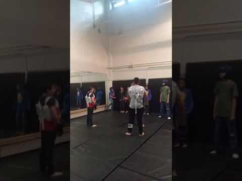 Self-Defense Training at Grant Beacon Middle School: closing the distance