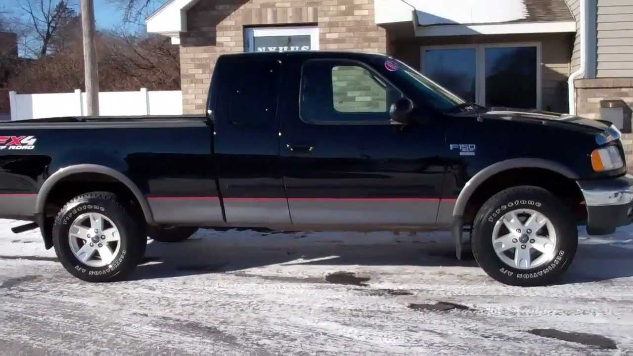 2002 ford f 150 xlt fx4 off road 4x4