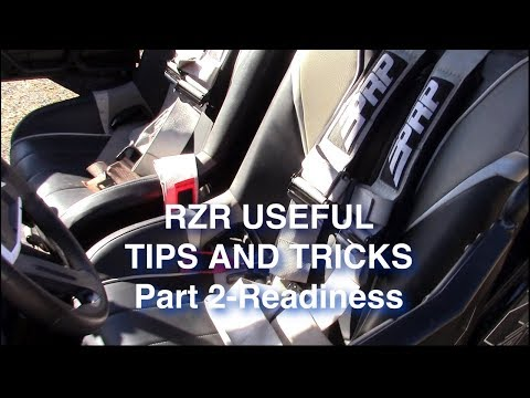 RZR Tips and Tricks Part 2 Ride Readiness