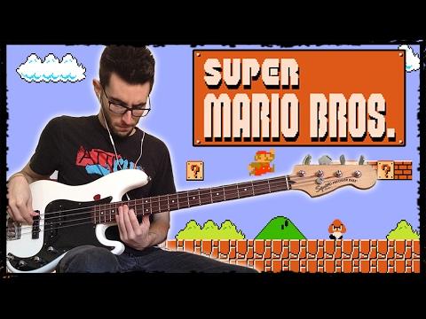 Super Mario Bros Theme [Bass Line + TABS]