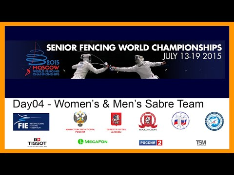 Senior Fencing World Championships Moscow 2015 - Day05 Team Finals