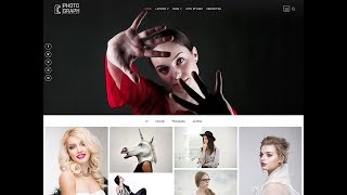 Photograph one click demo import - Best Photography Wordpress Theme