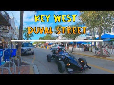 Key West Florida Duval Street Tour