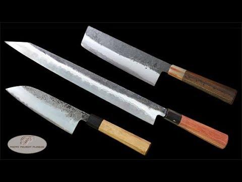 Les Couteaux De Cuisine Japonais De Yanick Puig Youtube