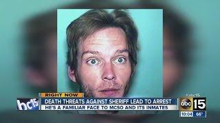 Death threats against Sheriff Joe Arpaio lead to arrest