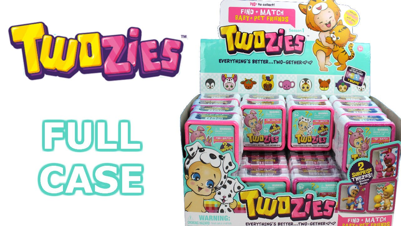 Twozies Full Case Unboxing Blind Bags Shadow Boxes Entire