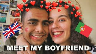 MEET MY BOYFRIEND (with Portuguese Challenges)