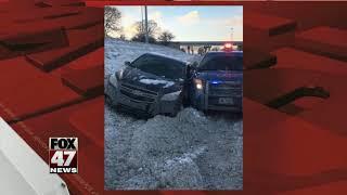 Man Arrested After Hitting Patrol Car... @ www.StoryAt11.Net
