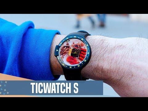 Un Android Wear por menos de 170€, Ticwatch S