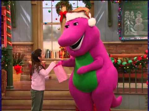 barney very merry christmas