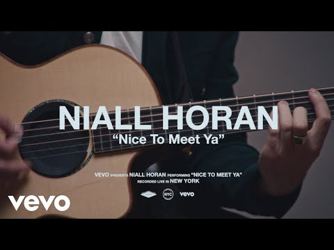 Niall Horan - Nice To Meet Ya (Live Performance) | Vevo